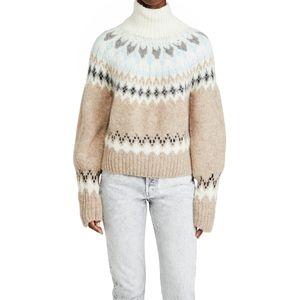 Rag & Bone Fran Turtleneck Alpaca Knit Sweater